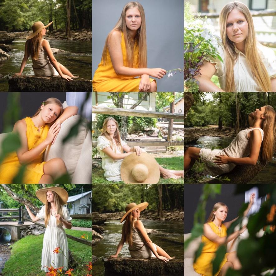 studio portraits, outdoor portraits, senior portraits, teen portraits