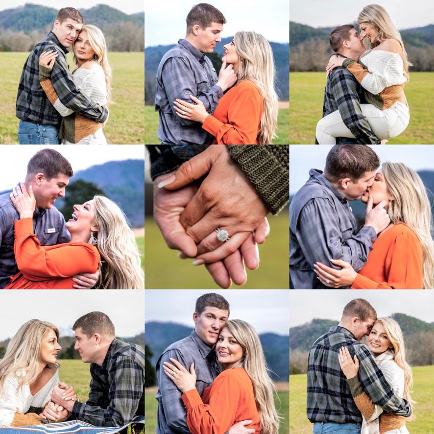 outdoor portraits, engagement portraits, couples,