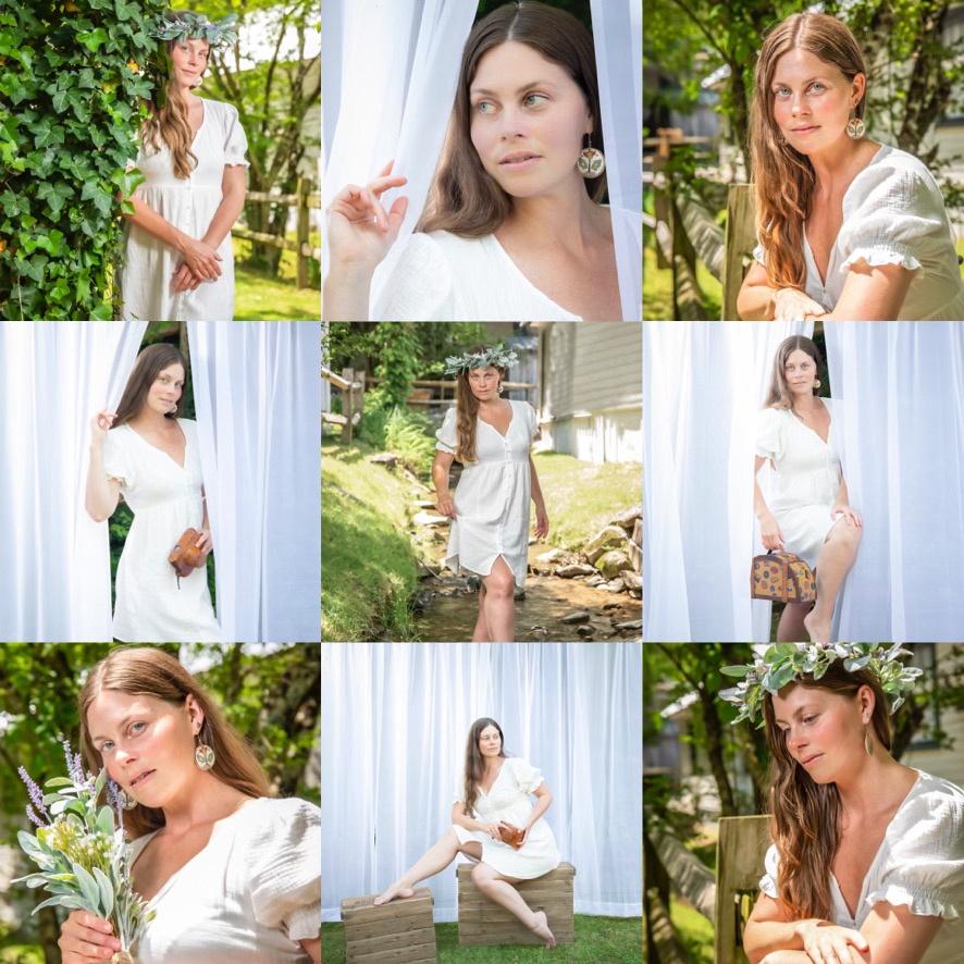 outdoor portraits, mini portrait sessions, bohemian-style