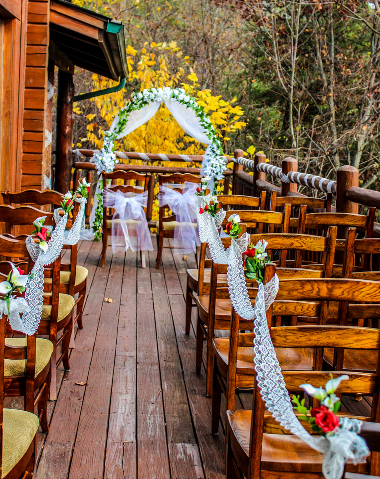 cabin weddings in the Smoky Mountains